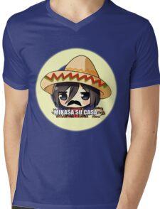 Mikasa Su Casa  Mens V-Neck T-Shirt