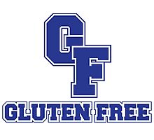 Gluten Free High School Sports Logo Photographic Print