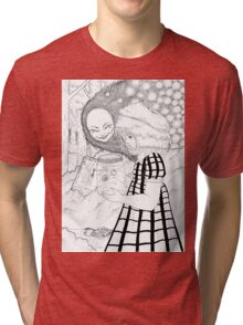 The girl of glass Tri-blend T-Shirt