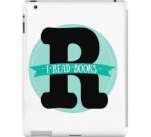 I read books iPad Case/Skin