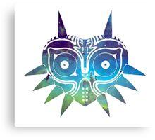 Galaxy Majora's Mask Canvas Print