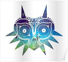 Galaxy Majora's Mask Poster
