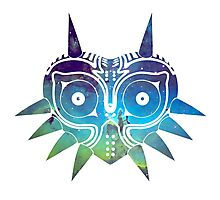 Galaxy Majora's Mask Photographic Print