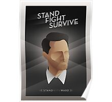 Stand Fight Survive Poster