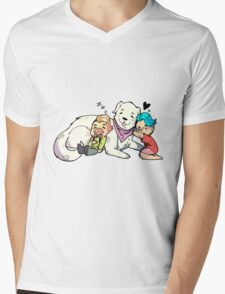 Markiplier, Wilford, and Chica The Puppy! Mens V-Neck T-Shirt