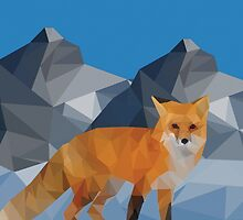 Winter Fox by Cody Maymon
