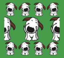 Bull Terrier Repeat Kids Tee