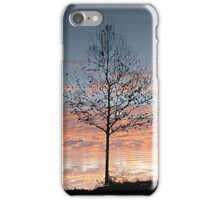 Ripple reflection. iPhone Case/Skin