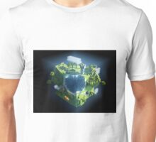 minecraft cubic world Unisex T-Shirt