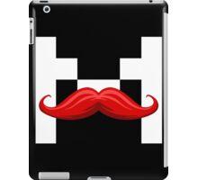 Mr. Mark (White) iPad Case/Skin