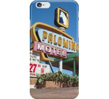 Palomino Motel iPhone Case/Skin