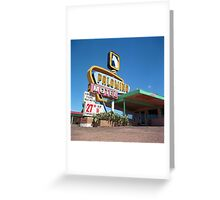 Palomino Motel Greeting Card