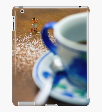 Otra vez todo perdido de azúcar... iPad Case/Skin