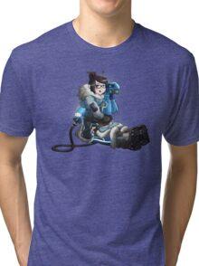 Overwatch - Mei  Tri-blend T-Shirt