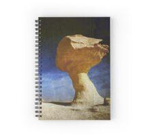 Textured Rock Formation Spiral Notebook