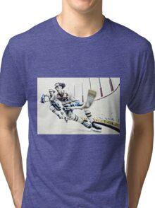 Old Time Hockey! Tri-blend T-Shirt