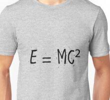 Einstein's most famous formula Unisex T-Shirt