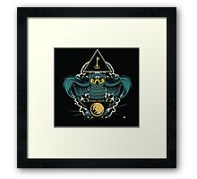 Owl Key Framed Print