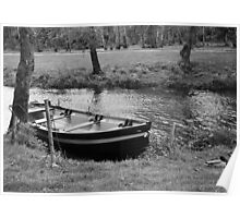 Boat in the Moat Poster