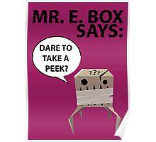 Mr. E Monster Box Poster