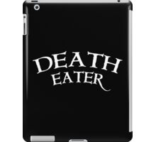 Death Eater *white letter iPad Case/Skin