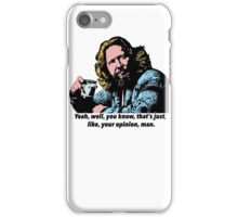The Big Lebowski and Philosophy 1 iPhone Case/Skin