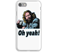 Big Lebowski Philosophy 4 iPhone Case/Skin