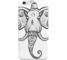 Elephant in Marrakech iPhone Case/Skin