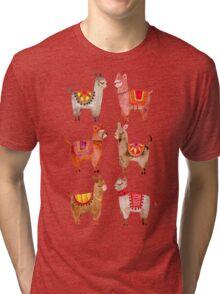 Alpacas Tri-blend T-Shirt