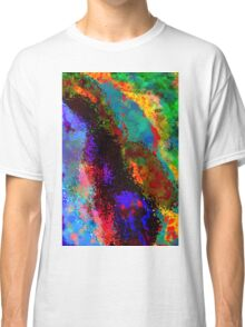 Colors Abstract  Classic T-Shirt