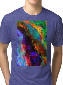 Colors Abstract  Tri-blend T-Shirt
