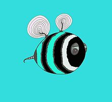 Bumble baby - Turquoise by Stevie the floating artist