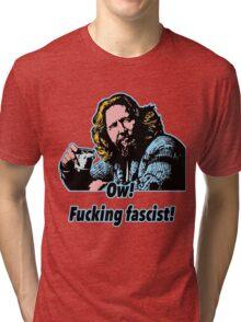 Big Lebowski Philosophy 33 Tri-blend T-Shirt