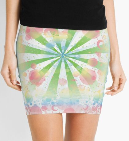 Abstract background Mini Skirt