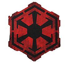 Star Wars Sith Logo Photographic Print