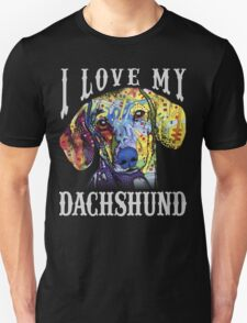 Dachshund lover- art shirt T-Shirt