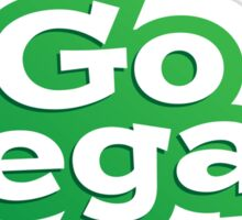 Go Vegan Logo Sticker