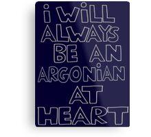 I'm an Argonian Metal Print