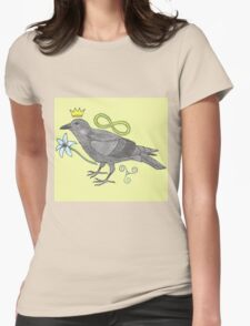 Crowns and Birds, Swords and Things Womens Fitted T-Shirt