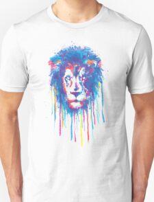 Lion Watercolor Unisex T-Shirt