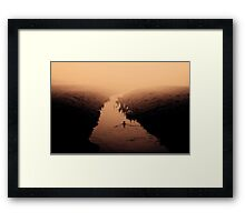 Road To Unknown Framed Print