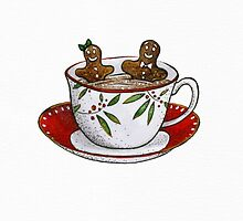 Gingerbread Hot Tub by Mariya Olshevska