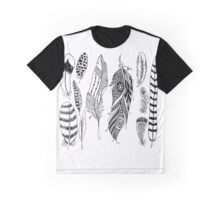 Indian Feathers Graphic T-Shirt