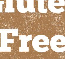 Gluten Free Heart - Distressed Sticker