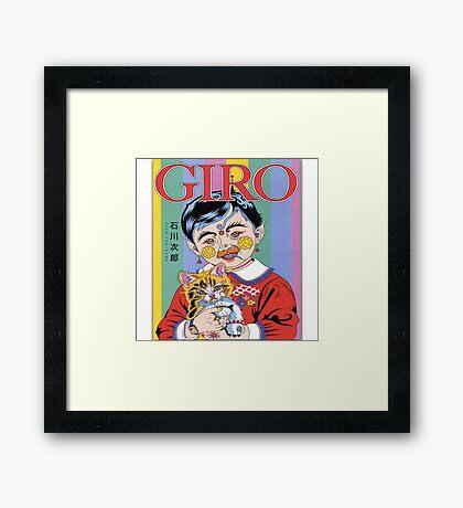 GIRO Framed Print