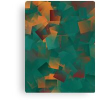 Twilight Black Maple Diffraction Mosaic  Canvas Print