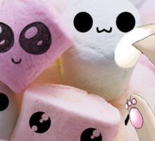 The Power Of Marshmallow Cat Sticker