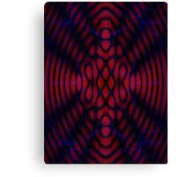 Twilight Black Maple Diffraction  Canvas Print