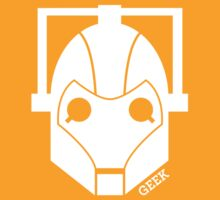 Geek Shirt #1 Cyberman (White) by Mynameisparrish