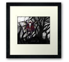 Cursed Land - With Background Framed Print